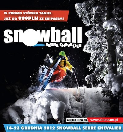 Snowball Serre Chevalier i Sylwester Risoul
